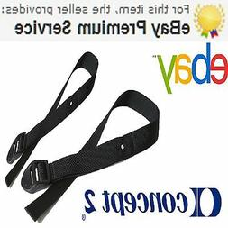1 Pair,Genuine Concept 2 Rowing Machine Foot Straps For All