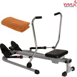 Sunny Health and Fitness 12 Level Resistance Rowing Machine
