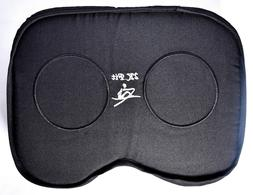 2K Fit Rowing Machine Seat Cushion  Memory Foam & Washable C