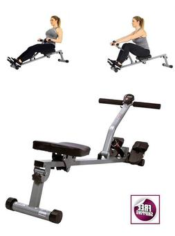 Adjustable Resistance Rowing Machine Rower Display Fitness S