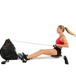 Sunny Health & Fitness Air Magnetic Rowing Machine Rower, LC
