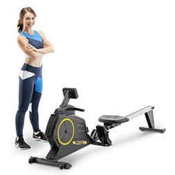 Circuit Fitness Deluxe Foldable Magnetic Rowing Machine with