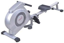 Health Fitness Dual Function Rowing Machine Rower w/ LCD Mon