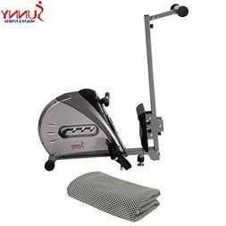 Sunny Health and Fitness Elastic Cord Rowing Machine Rower w