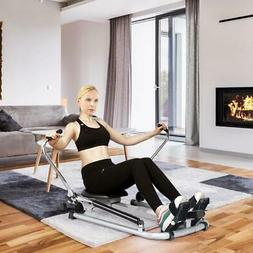 Exercise Rowing Machine Rower w/ Adjustable Hydraulic Resist
