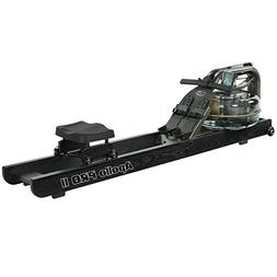 First Degree Fitness Indoor Water Rower with Adjustable Resi