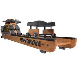 First Degree Fitness Viking PRO Wooded Water Rowing Machine