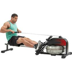 Foldable Water Rowing Machine Indoor Home Gyms Fitness Cardi