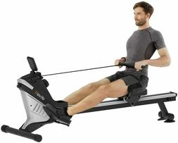 Ativafit Folding Magnetic Rower Rowing MachineAdjustable R
