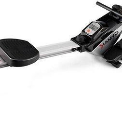 Goplus Magnetic Rowing Machine, Folding Rower With Lcd Displ