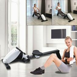 Magnetic Rowing Machine LCD Monitor Full Body Cardio Workout