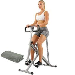 Sunny Health and Fitness Upright Squat Assist Row-N-Ride Tra