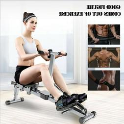 Exercise Rowing Machine Resistance Adjustable Cardio Equipme