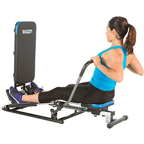 ProGear Rower Additional Exercise Capability, Black