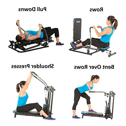 ProGear 750 Rower with Additional Workout Capability, Black