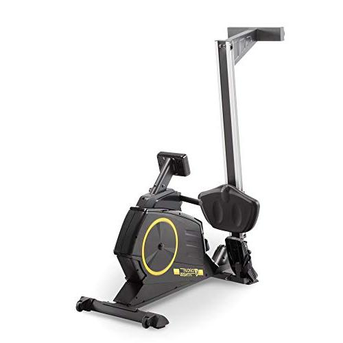 Magnetic Rowing with 8 Resistance Setting Transport Yellow