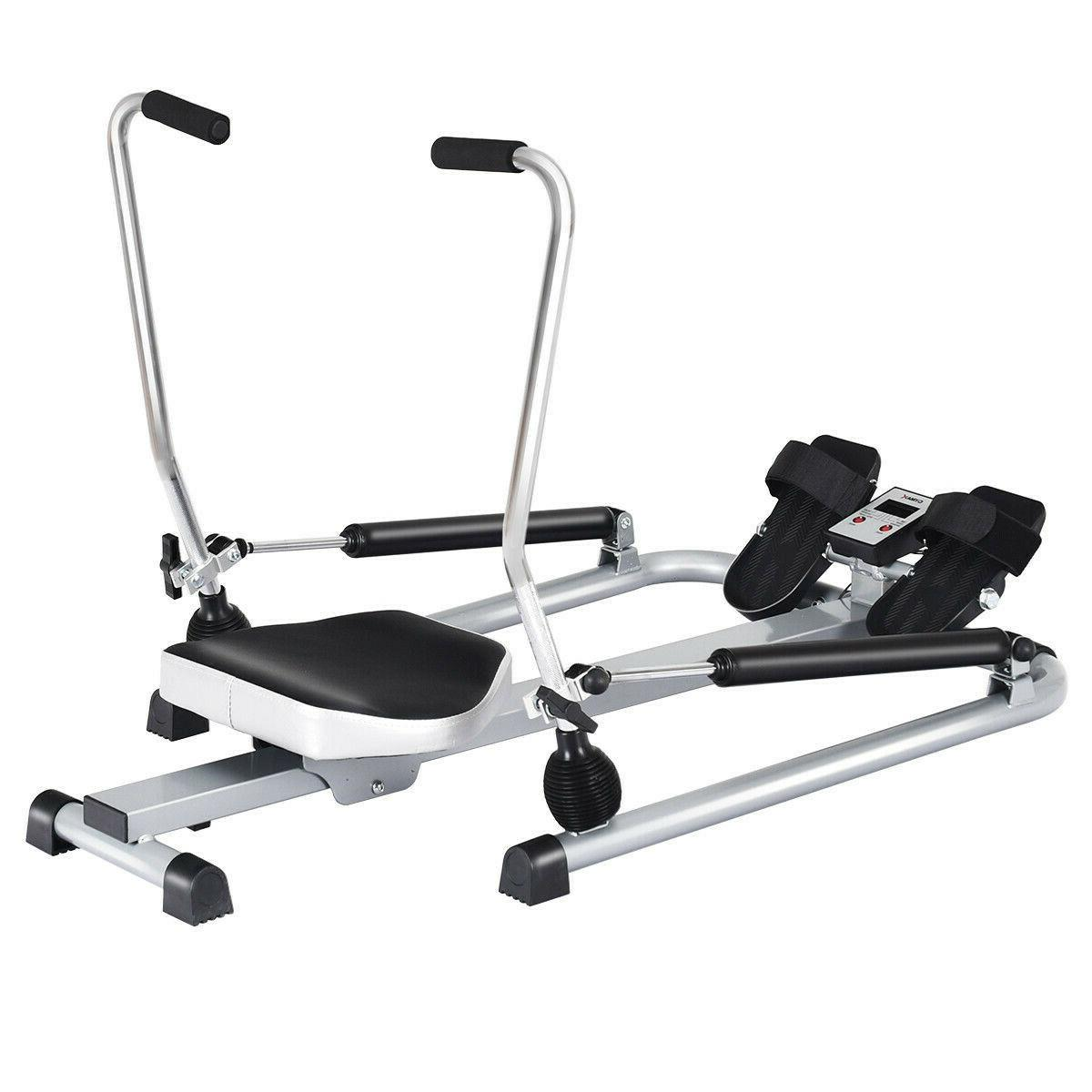 Rowing Hydraulic Adjustable Levels Home Cardio