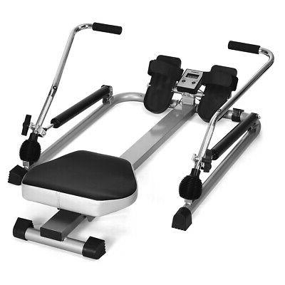 exercise rowing machine rower w adjustable double