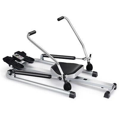 fitness rowing machine rower w adjustable double