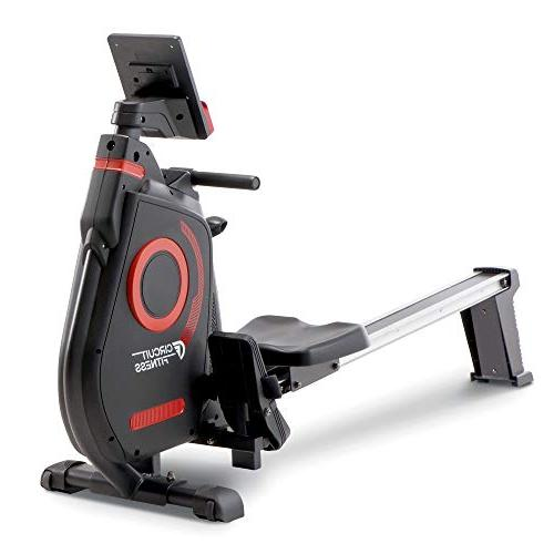 Circuit Fitness Rowing Machine & Body - Red