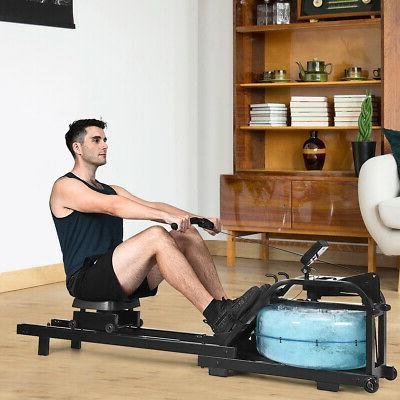 Home Exercise Rowing Machine Health Fitness Adjustable