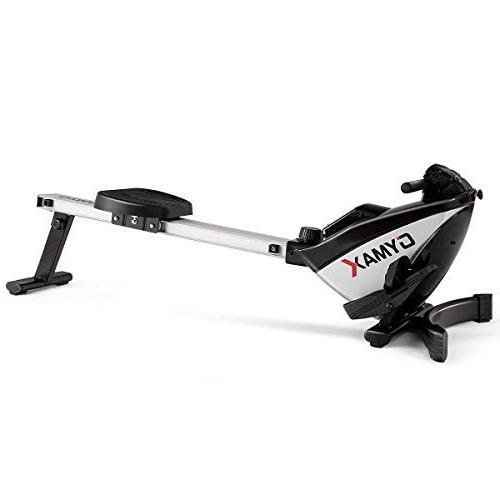 Goplus Rowing Machine Folding Display and Resistance Exercise