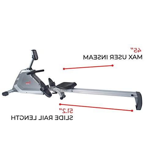 Magnetic Rower with Dual Programmable and -