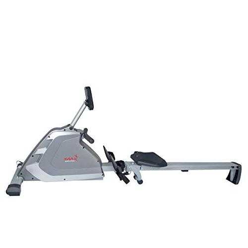 Sunny & Magnetic Rowing Rower with Weight Capacity, Dual and