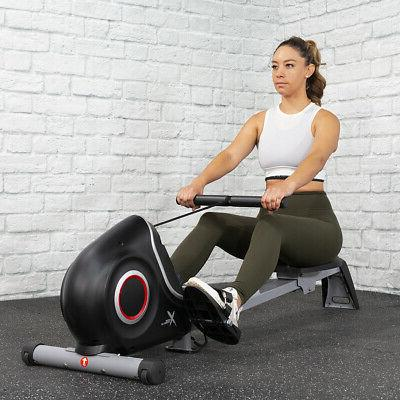 magnetic ultra quiet rowing machine folding rower