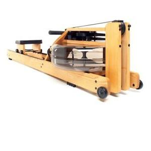 natural rowing machine in ash wood