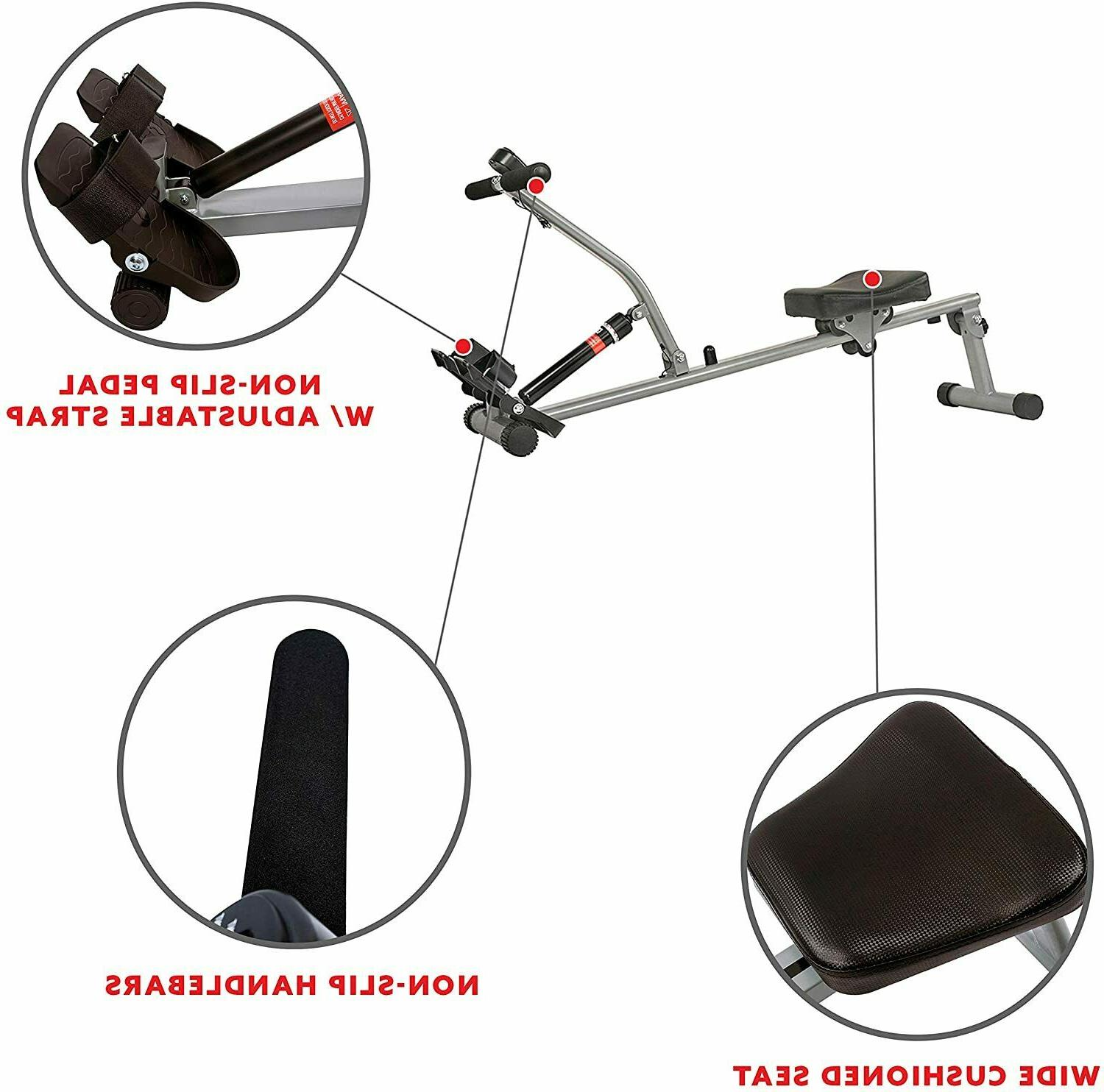 Sunny SF-RW1205 Adjustable Resistance Rowing Machine
