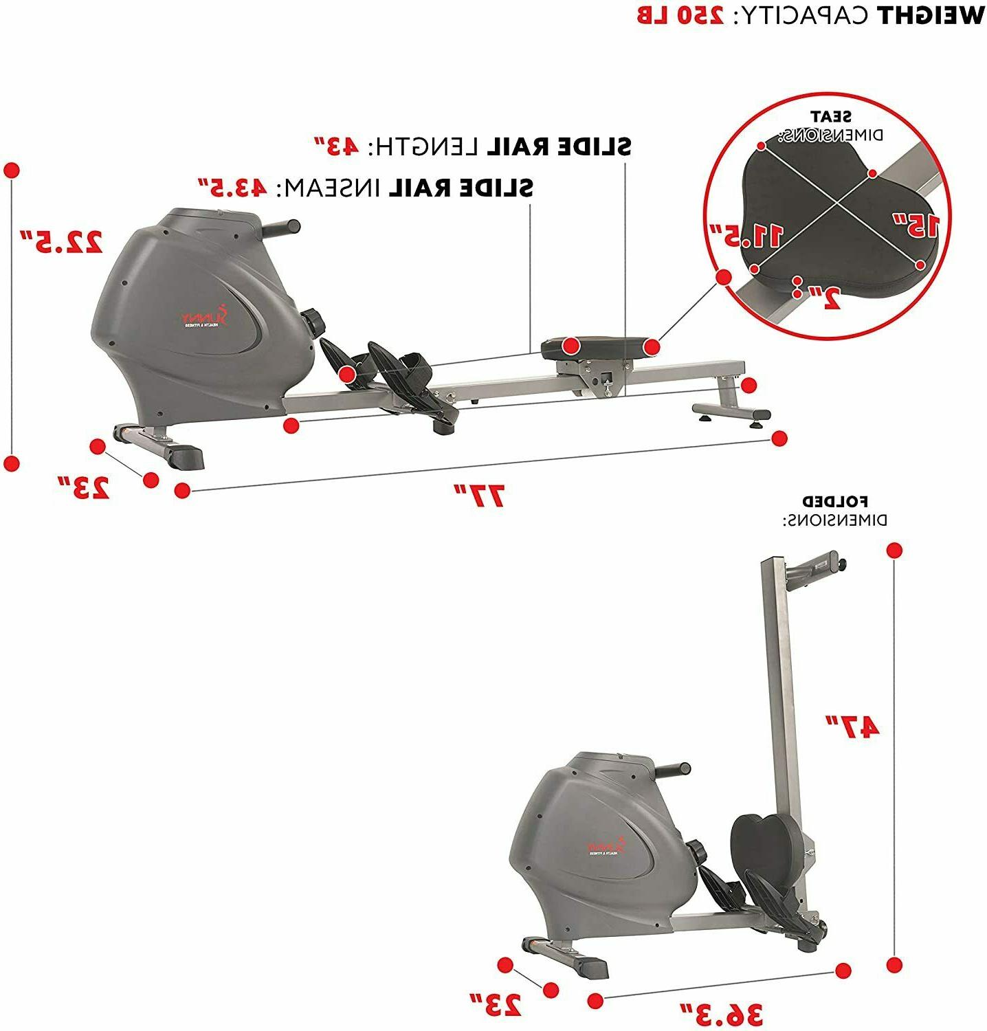 Compact Folding Rowing Machine within days
