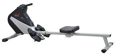 sunny health and fitness magnetic rower cardio