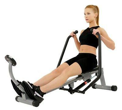 Sunny Health & Fitness Rowing Motion