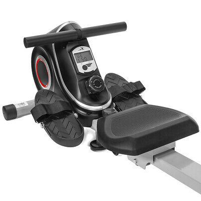 Magnetic Machine Folding Rower with 10 Resistance Levels