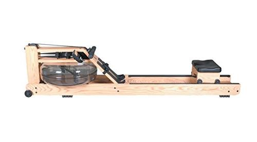 Water Rower Natural Rowing Machine in Ash Wood with S4 Monit