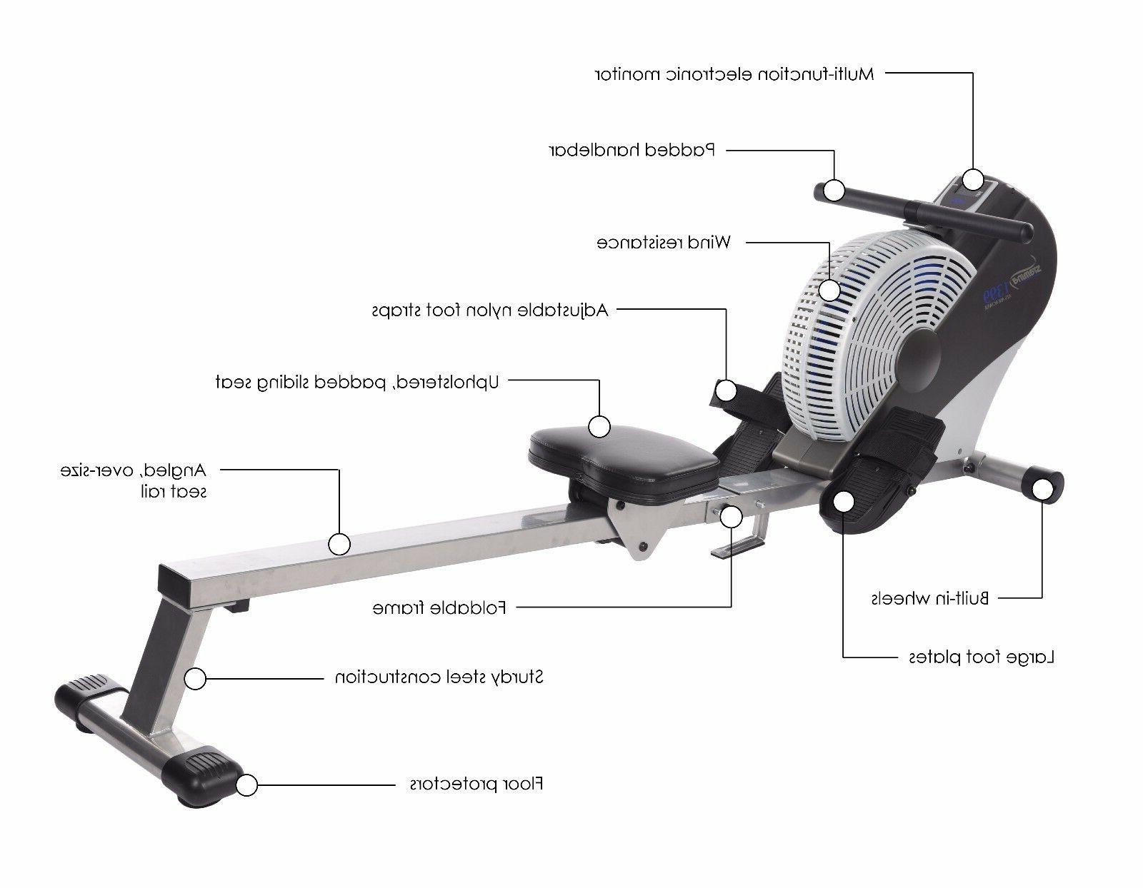 Wind Resistant Stamina® ATS AIR ROWER MACHINE