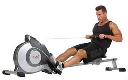 Magnetic Rowing Machine Sunny Health Fitness Exercise Fitnes