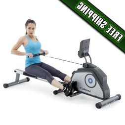 Marcy Magnetic Rowing Machine with 8 Levels of Resistance NS