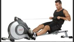 Sunny Health Fitness Magnetic Tension System Rower Rowing Ma