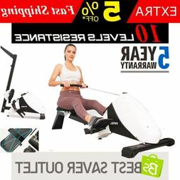 Multifunction Folding Magnetic Rowing Machine Rower W/ LCD M