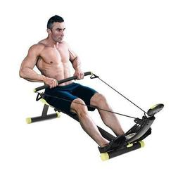New Rower Max Pro Cardio Compact Home Gym Rowing Machine Car