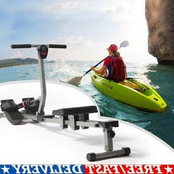 NEW Rowing Machine Exercise Rower 12 Adjustable Hydraulic Re