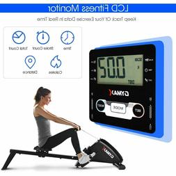 New GyMax Rowing Machine Foldable 10-Level Tension Resistanc