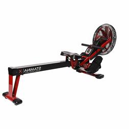 NEW Stamina X Air Rower - Black Rowing Machine Exercise Gym