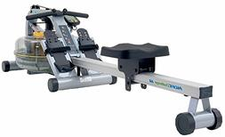 First Degree Fitness Fluid Rower with Adjustable Resistance