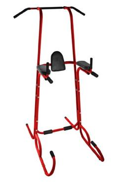 Stamina | X Power Tower w/VKR Home Gym, Red