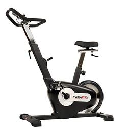 EFITMENT Rear Drive Magnetic Upright Bike | Indoor Exercise