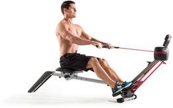 Rowing Machine Cardio Exercise Folding Weslo Fitness Rower
