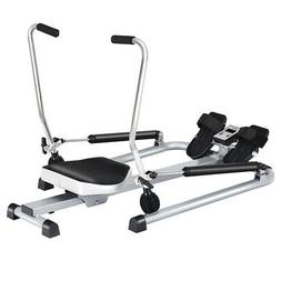Rowing Machine Exercise Rower w/ Adjustable Double Hydraulic